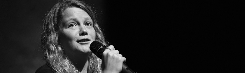 performance poet Kate Tempest at the 2014 Festival