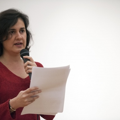 Author Kamila Shamsie reads her 2014 Commisison at Manchester Art Gallery