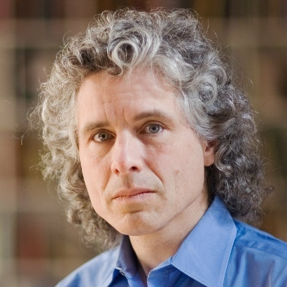 The author and psychology professor Steven Pinker
