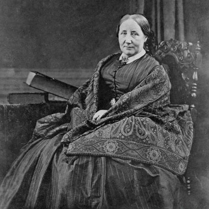 Image of Elizabeth Gaskell in later life