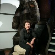 Preview of Jeanette Winterson with Boris the Bear