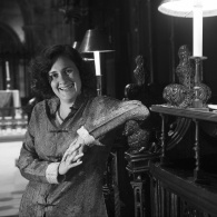 Author Kamila Shamsie at Manchester Cathedral