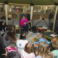 Preview of Family Reading Day - storytelling tent