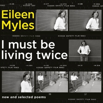 Image of front cover of Eileen Myles' new book