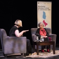 Preview of Margaret Atwood & host Alex Clark