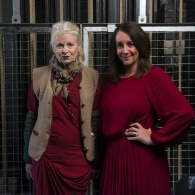 Preview of Vivienne Westwood & host Lucy Siegle