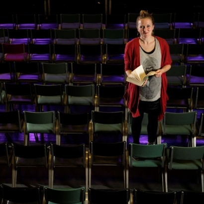 Poet and spoken word performer Hollie McNish preparing for her 2016 event