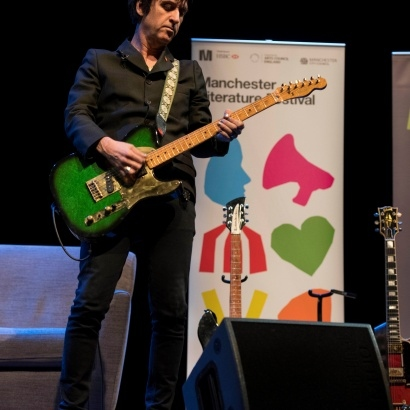 Johnny Marr live at the RNCM