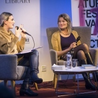 Preview of Katie Popperwell & Jennifer Egan on stage