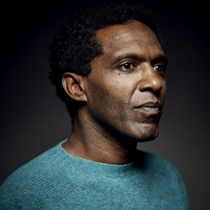 Headshot of poet and author Lemn Sissay