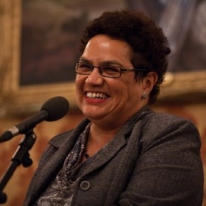 Jackie Kay reads new story in Midland Hotel