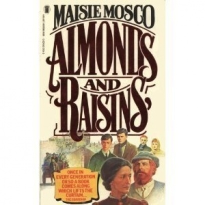 Booksleeve for Maisie Mosco's Almonds and Raisins