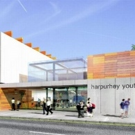 The outside of the factory youth zone in Harpurhey
